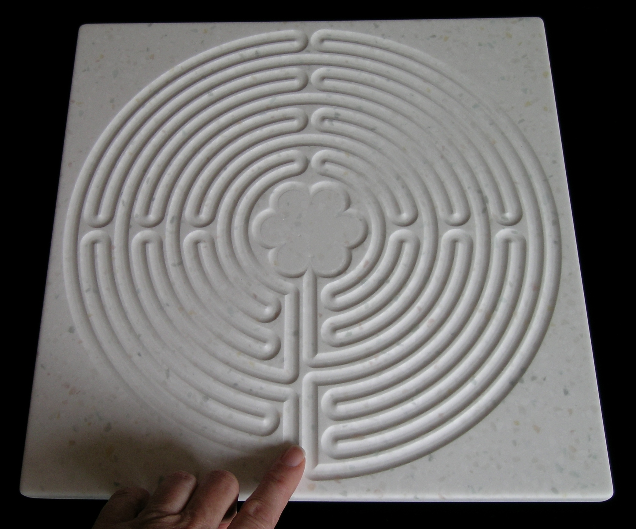 Square Chartres Labyrinth Board